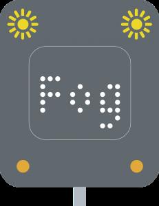 Fog-warning-light